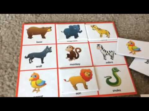 Listen & Play Zoo Bingo (2)