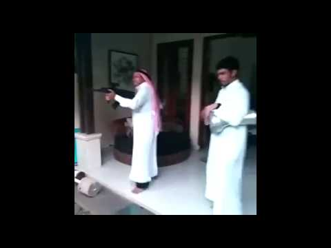 Arab man in action.......jUST FOR lAUGH