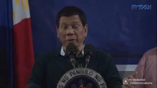 nagbigay ng payo si president duterte sa mga sundalo bilang commander in chief