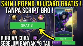 JOS! CARA DAPAT SKIN LEGEND ALUCARD GRATIS DI MAGIC WHEEL !!!