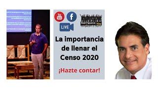 Importancia De Llenar El Censo 2020