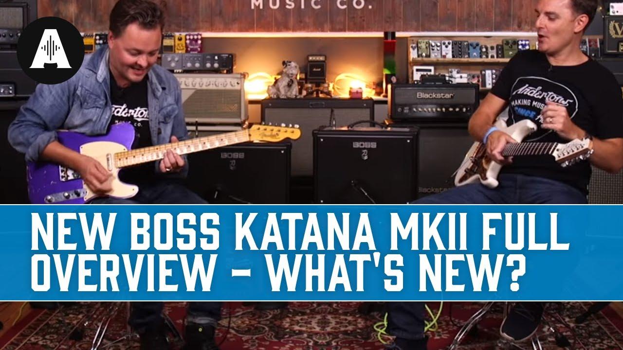 SMALL AND LOUD - Boss Katana 50