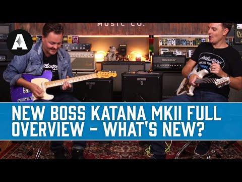 NEW Boss Katana MkII Full Overview - What's New?