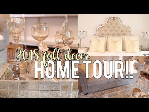 My Fall Decor Tour 2018!! Decor Inspiration #HouseToHome | NitraaB