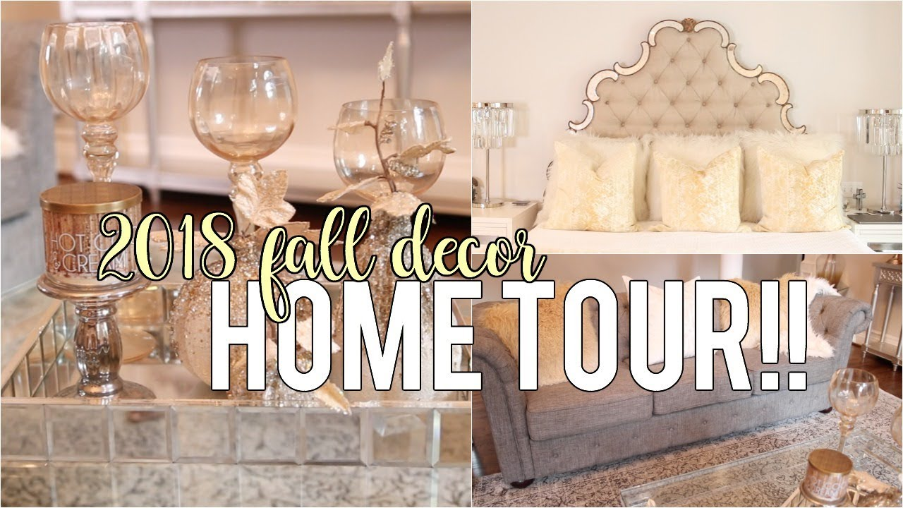 782e18f2729 My Fall Decor Tour 2018!! Decor Inspiration  HouseToHome