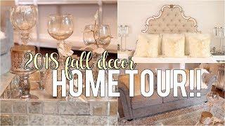 My Fall Decor Tour 2018!! Decor Inspiration #HouseToHome | NitraaB