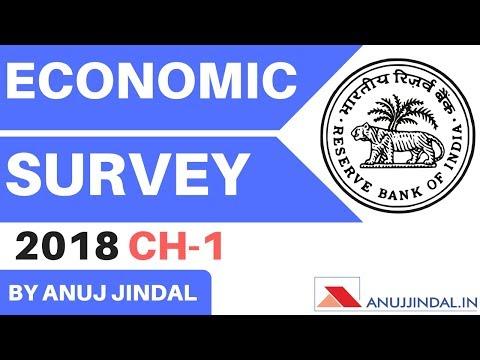 RBI grade B & NABARD 2018  Economic Survey Chapter 1