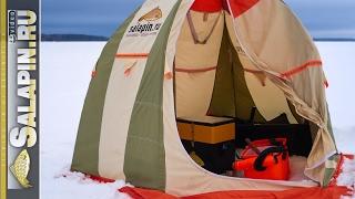 Крупный лещ на мормышку | Как расположиться в зимней палатке [salapinru](Изначально видео снимал именно как инструкцию для начинающих зимников. Но в дело вмешался его величество..., 2017-02-14T06:59:28.000Z)