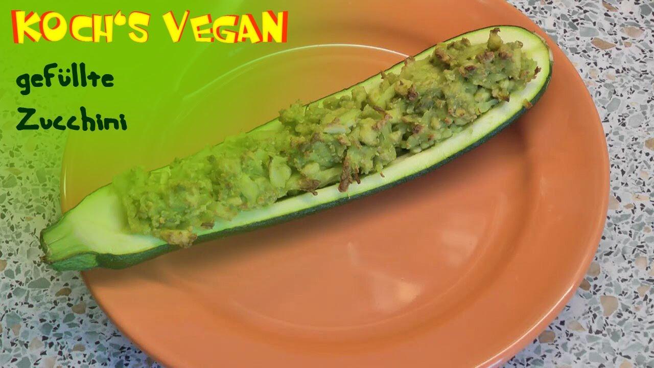 gef llte zucchini zucchini rezepte zubereiten vegane. Black Bedroom Furniture Sets. Home Design Ideas