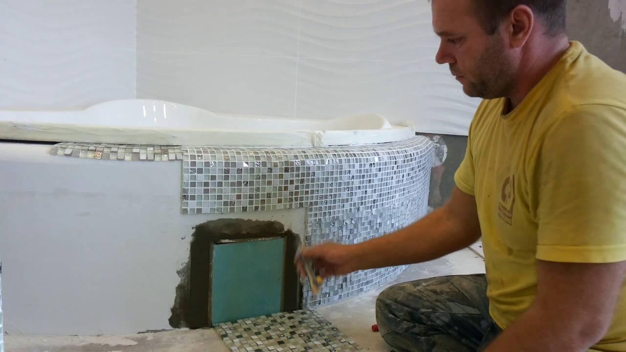 Экран для акриловой ванны.  Часть 4.