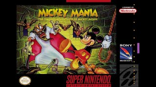 Is Mickey Mania: Tнe Timeless Adventures of Mickey Mouse [SNES] Worth Playing Today? - SNESdrunk