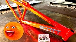 Порошковая покраска велосипеда в ядовый оранжевый флюр(, 2017-05-08T16:15:08.000Z)