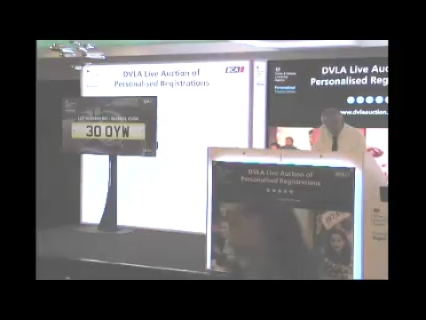 DVLA Auction Live Stream