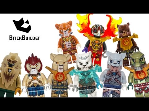 Lego Chima Minifigures 2015 Complete Collection Brickbuilder Youtube