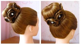 Tuto coiffure simple chignon bun cheveux long soiremariagepour les ftes
