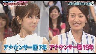 田中みな実vs馬場典子 可愛いのはどっち?田中「圧倒的に私」