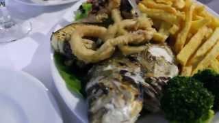 Ужин в таверне Aqroyli Ретимно остров Крит(Видео обзор традиционной Греческой кухни., 2014-08-09T15:29:27.000Z)