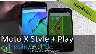 Zwillinge! Motorola überrascht mit Moto X Style + Play – Video-Test