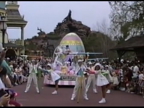 1996 Walt Disney World Happy Easter Parade