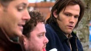 Supernatural funniest moment ever!