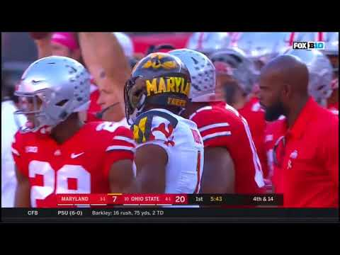2017 - Maryland Terrapins at Ohio State Buckeyes in 40 Minutes