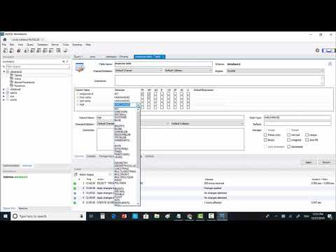 How To Create Database And Tables In MySql Workbench 8.0 (Part-4)