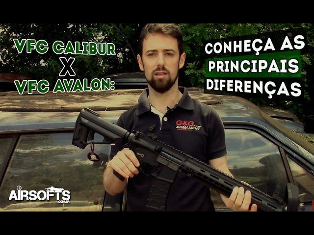 VFC Calibur x VFC Avalon: Conheça as principais diferenças - Airsofts