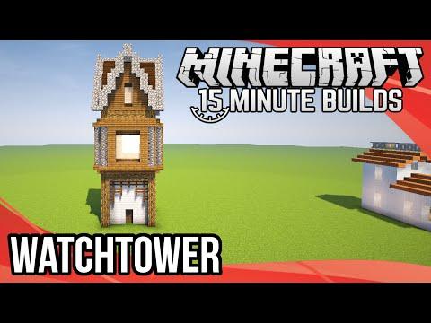 Minecraft 15-Minute Builds: Watchtower