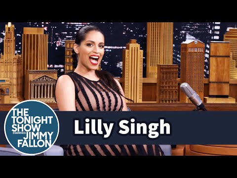 Lilly Singh Used Her YouTube Cred to Flirt with The Rock