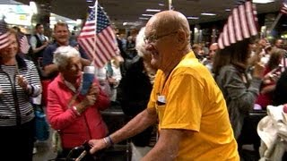 Honor Flights Serve Those Who Have Served Their Country