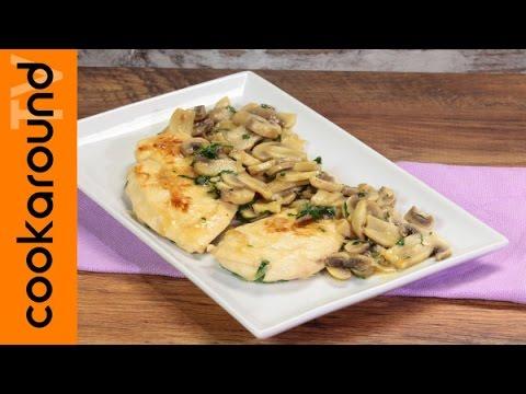 Petto di pollo ai funghi ricette secondi piatti veloci for Secondi piatti veloci