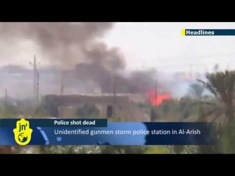 Sinai Islamist Insurgency: Three Egyptian policemen gunned down by militants in Al-Arish