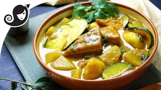 Braised Tofu And Vegetable Curry | Vegan/vegetarian Recipe + Gluten-free