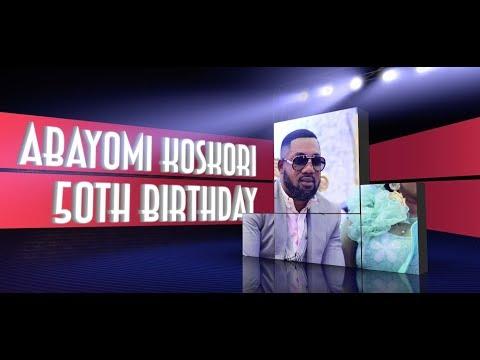 ABASS OBESERE LIVE @KOSKORI 50TH BIRTHDAY CELEBRATION