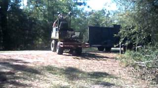 Hunting Buggy home made from riding lawnmower video 0 20 2011.AVI