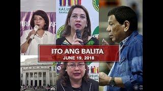 UNTV: Ito Ang Balita (June 19, 2018)