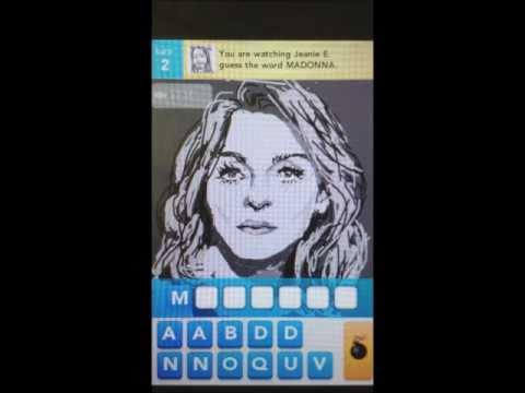 DrawSomething Madonna