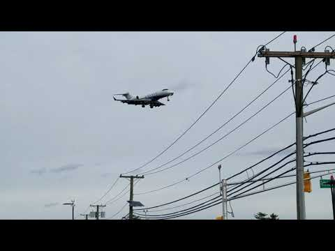 Planespotting at Teterboro NJ