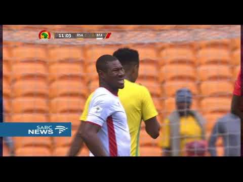 Bafana Bafana wallops Burkina Faso 3-1