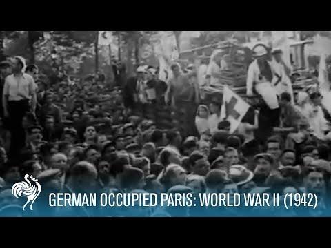 German Occupied Paris: World War II (1942) | British Pathé