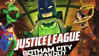 LEGO Лига справедливости: Прорыв Готэм Сити (2016) Официальный трейлер