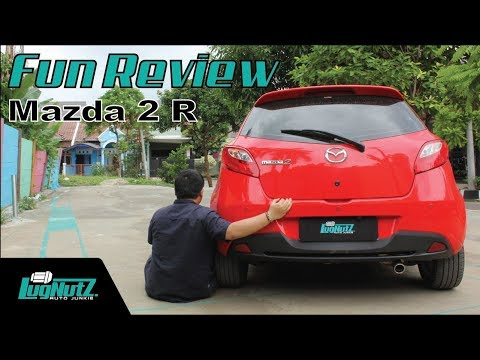 Mazda 2 R FUN REVIEW - Hatchback Ala Zoom Zoom | LUGNUTZ Indonesia