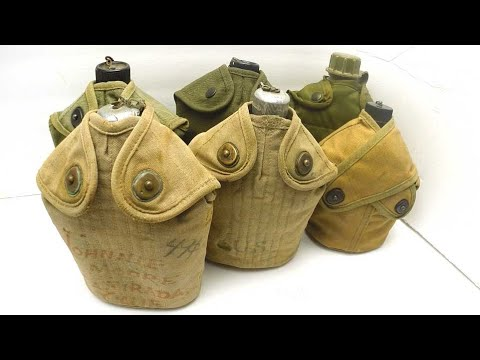 A brief history of the US military Model M1910 canteen