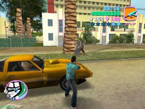 GTA Vice City - Свободная игра