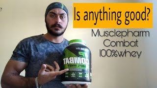 Is it good to buy Musclepharm Combat 100% whey?