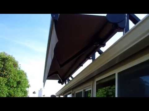 Motorized Retractable Awning Videos