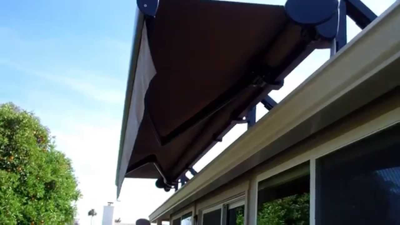 Roof Mounted Motorized Retractable Awning