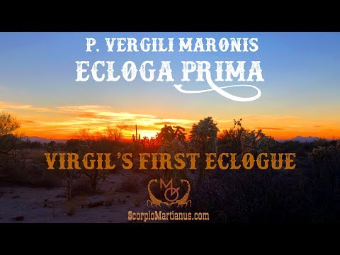 Virgil's Eclogue 1 / Ecloga 1 Vergilii