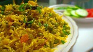दो ख़ास ingredients डालकर बनाएं खुशबूदार मटर पुलाव   Delicious Matar Pulao Recipe   CookWithLubna