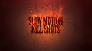 Slow Motion Kill Shots - Hunting - Warning Graphic Content